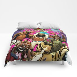 flatbush zombies tour 2016 Comforters