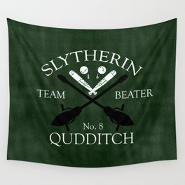 Slytherin Team Beater Wall Tapestry