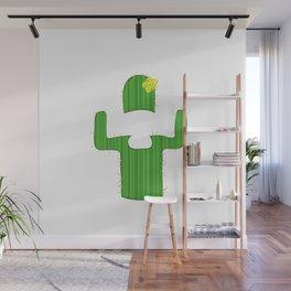 Sexy Fashion Cactus Wall Mural