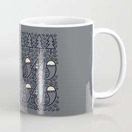 Forest Spirit Orates on Squirreldom to Squirreldom Coffee Mug
