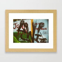 Il était Charlie {he was Charlie} Framed Art Print
