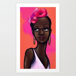 Neptune's Daughter : Marsha  P. Johnson Art Print