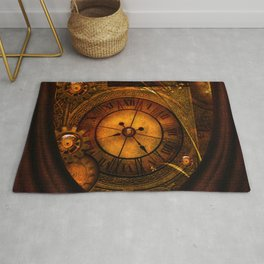 Awesome noble steampunk design Rug