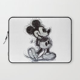 Mickey Mouse scribble Laptop Sleeve
