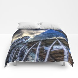 Lloyd's and Willis Group and Cheese Grater London Comforters