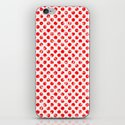Polka Dot Red and Pink Blotchy Pattern by markuk97