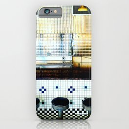 The Diner's Face. iPhone Case