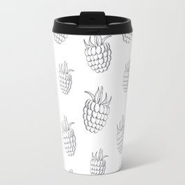 Cute and nice fruits and berry with raspberry Travel Mug