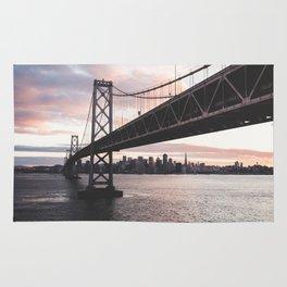 Bay Bridge - San Francisco, CA Rug