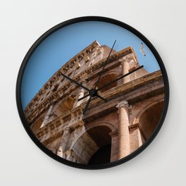 Roman Coliseum II Wall Clock