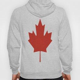 red maple leaf flag of Canada Hoody