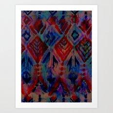Ikat #2A Art Print
