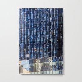 Manhattan Windows Metal Print