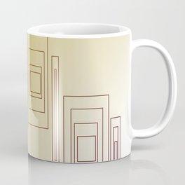 Design blocks, Gold elements Coffee Mug