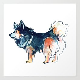 Franklin the Corman Shepherd Art Print