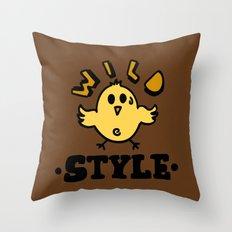 wild style Throw Pillow