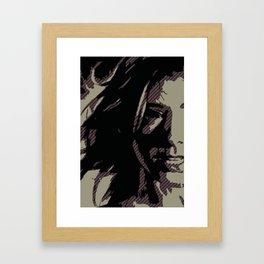 Dark Willow Framed Art Print