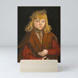 "Lucas Cranach the Elder """"A Prince of Saxony"" Mini Art Print"
