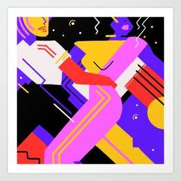 Hypnotic Tango Art Print