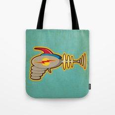 Retro Ray Gun Tote Bag