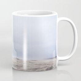 Bird in Flight Over Grayland Beach, Washington Coffee Mug
