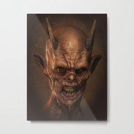 Demon Metal Print