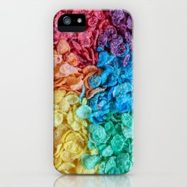 Fruity Pebbles I iPhone Case