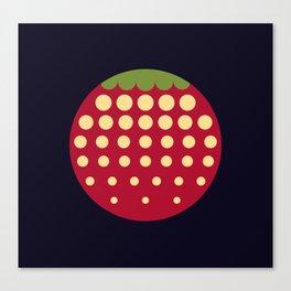 strawberry    russian black Canvas Print