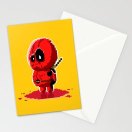 8 bit Merc with a Mouth Stationery Cards