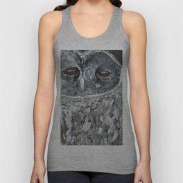 barn owl Unisex Tank Top