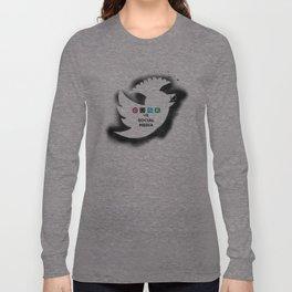 PUNK YOUR SOCIAL MEDIA Long Sleeve T-shirt