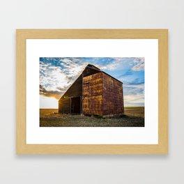 Grain Elevator 3 Framed Art Print