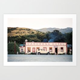 Hotel Cardrona   Queenstown Wanaka New Zealand   Fine art photography print Art Print