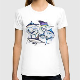 Pacific Billfish Slam Marlins,Sailfish,Swordfish,Spearfish T-shirt
