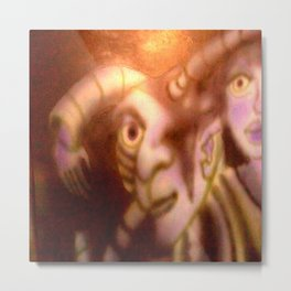 Biogenetic sample Metal Print
