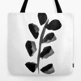 Black Fern Tote Bag