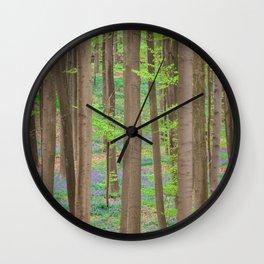 Hallerbos 2 Wall Clock