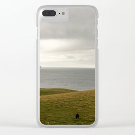 black sheep Clear iPhone Case