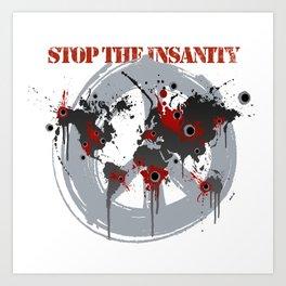 Stop the Killing Art Print