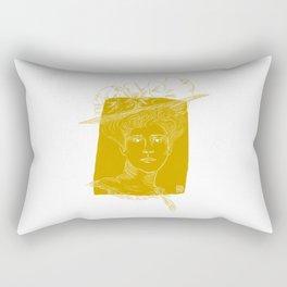 Gibson Girl Rectangular Pillow