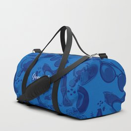 FASHION STYLE  BLUE Duffle Bag
