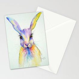 Hare Art Print Stationery Cards