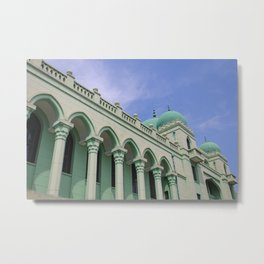 Green Mosque Metal Print