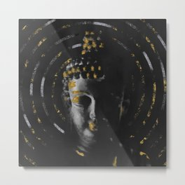 The Holy Buddha Metal Print