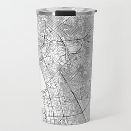 Manila White Map Travel Mug