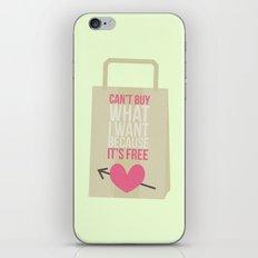 can't buy iPhone & iPod Skin