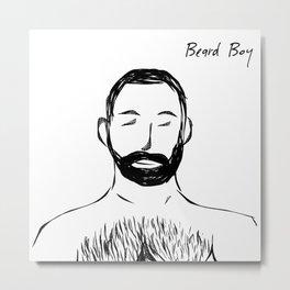 Beard Boy 5 Metal Print