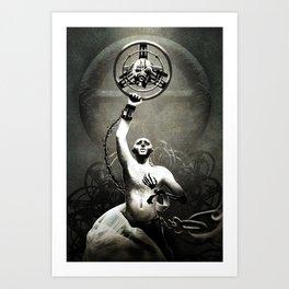Warboy Nux Art Print