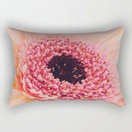 Pink Germini Close up 3 Rectangular Pillow