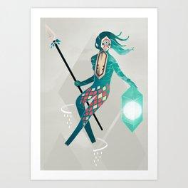 The Sea Guardian Art Print